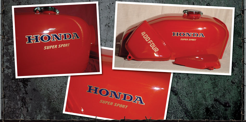 honda 400 four set