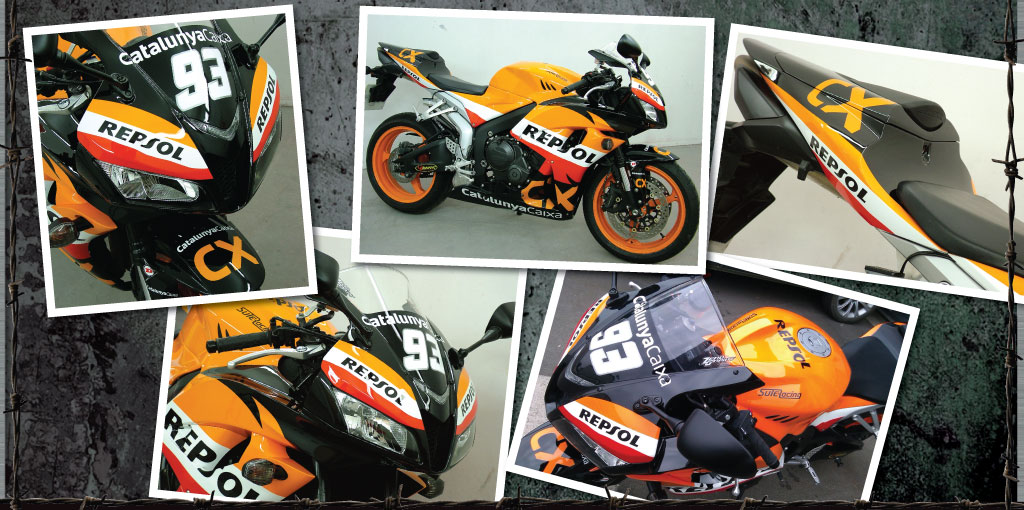 Mark Marques Repsol version - 100% paint!