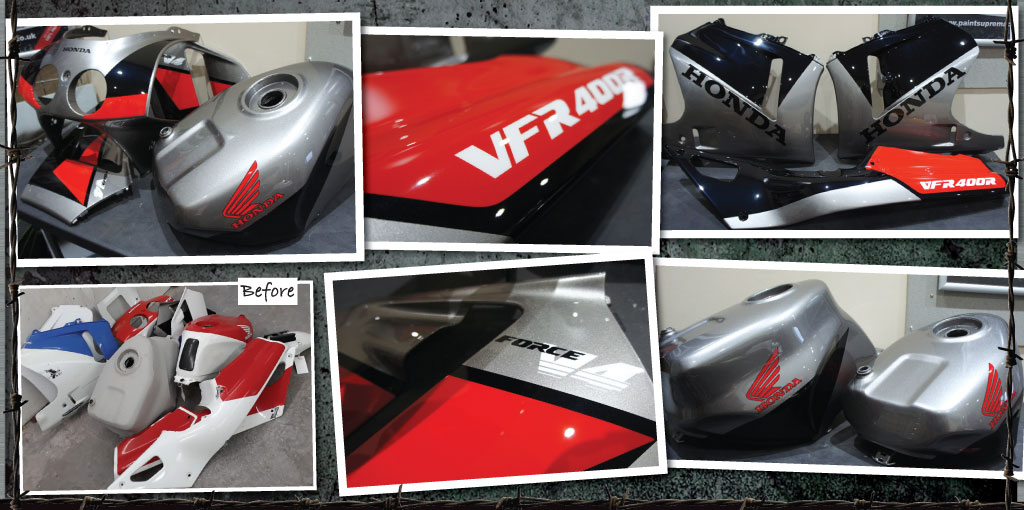 Honda VFR400R force V4